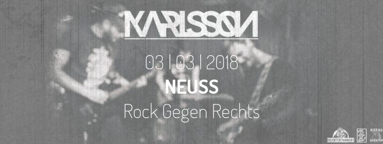 KARLSSON - Rock Gegen Rechts - Neuss